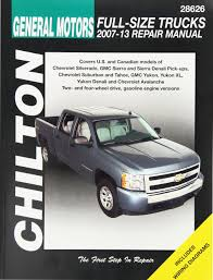 amazon com gm full size trucks chilton repair manual 2007 2012