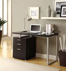 metal desk with file cabinet contemporary square black wooden file cabinet desk grey wall paint