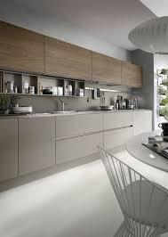 cuisine implantation une cuisine moderne tout en longueur brun http m habitat