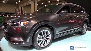 mazda new cars 2017 2017 mazda cx 9 skyactiv exterior and interior walkaround 2016