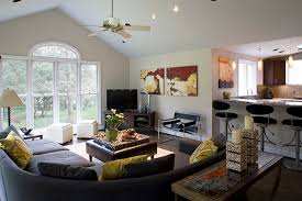 Living Room And Family Room Combo by Enjoyable Design Ideas Kitchen Dining Family Room Combo Designs On