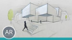 wo kann architektur studieren architekturskizzen schön und schnell visualisiert mappenbeispiel