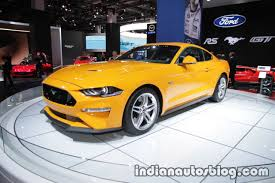 euro spec 2018 ford mustang gt showcased at iaa 2017 live