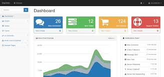 template dashboard free 20 free bootstrap admin dashboard templates