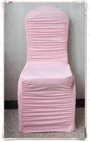 Ruffled Chair Covers Online Get Cheap Pink Ruffled Wedding Chair Covers Aliexpress Com