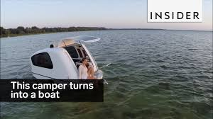 volkswagen thing in water this camper turns into a boat youtube