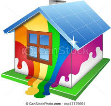 casa disegno casa disegno pittura pittore vettori eps cerca clip