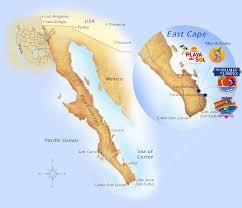 map cabo mexico sea of cortez east cape resorts baja mexico cabo san lucas resorts