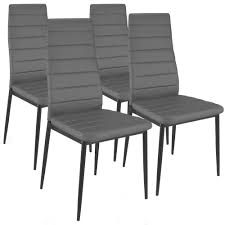 chaise de cuisine grise chaises cuisine couleur lot de 2 chaises hautes grises collection