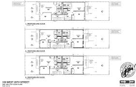 Railroad Apartment Floor Plan by Landmarks Leans Towards Removal Of Extra Floor From Hopper Gibbons
