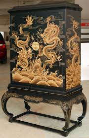 Chinoiserie Secretary Desk by Easterncurio Com Chinese Chinoiserie Furniture Lacquare Ware