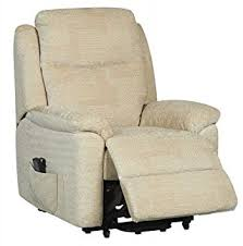 evesham fabric electric dual motor riser recliner chair rise and