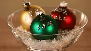 how to make personalized ornaments