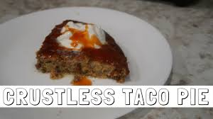 crustless taco pie low carb u0026 keto vlogtober day 13 youtube