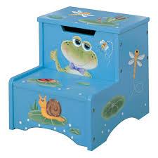 fantasy fields princess u0026 frog crown step stool hayneedle
