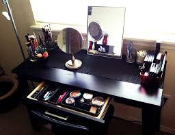 Makeup Vanities For Bedrooms With Lights Bedroom Makeup Vanity With Lights Bulb Ideas Decorate Bedroom