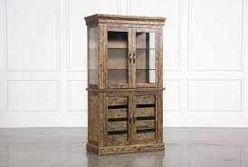 curio cabinet with light modern solid brass glass curio cabinet display case vitrine at