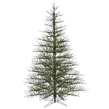 7 5 foot midnight green stiff needle twig christmas tree mini