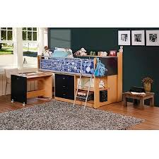 storage loft bed with desk savannah storage twin wood loft bed with desk navy and natural