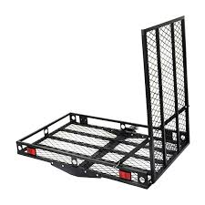 strong electric wheelchair hitch carrier mobility ramp