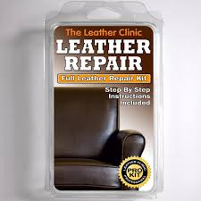 How To Get Ink Out Of Leather Sofa by Dark Brown Leather Sofa U0026 Chair Repair Kit For Tears Holes Scuffs