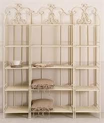 etagere in ferro battuto gallery of composizione etagere ferro etnico outlet mobili