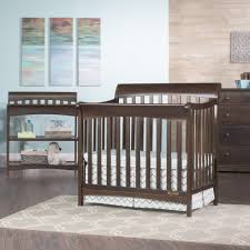 Convertible Cribs With Changing Table by Coventry Mini 4 In 1 Convertible Crib Child Craft
