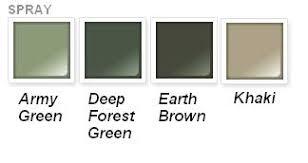 rust oleum specialty camouflage spray