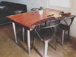 Slab Table Etsy by Eclectic Modern Custom Wood Slab Table Desk Console Anthro