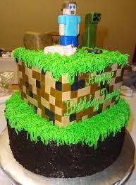 minecraft birthday cake ideas creeper minecraft mine craft green digital boy birthday cake lake