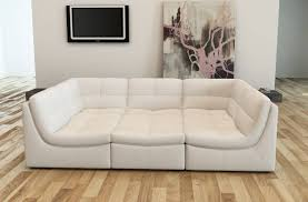 tufted leather sectional sofa appealing small u shaped white tufted leather sectional sofa bed ideas jpg