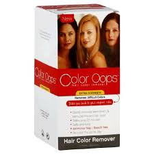 extra strength hair color remover color oops reviews photos