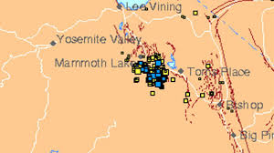 Mammoth Map Lakes Area Hit By Swarm Of Hundreds Of Tiny Earthquakes