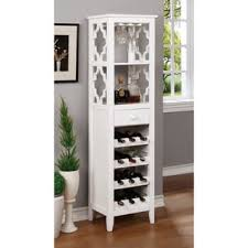 monet white wine rack free shipping today overstock com 16608542