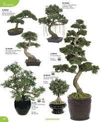 Decorative Pine Trees Artificial Flowering Plants Silk Floral Stems