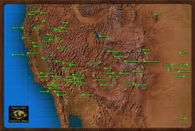 Fallout 3 Map With All Locations by Mojave Wasteland The Vault Fallout Wiki Fallout 4 Fallout