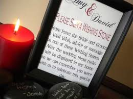 wedding wishing stones wedding planning planning for your guest book mentormob