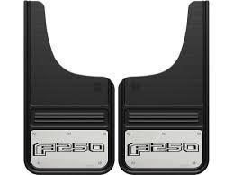 logo ford 2017 truck hardware gatorback mud flaps ford f250 sharptruck com