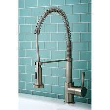 100 pull down kitchen faucet kingston brass gourmetier