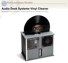 or rather many of us haven t fully understood the effects of truly cleaning a record which the audio desk does like no other record cleaner