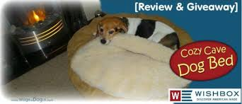 usa snoozer cozy cave dog bed giveaway u0026 review