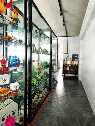 Display Cabinet Furniture Singapore A Flat With Lots Of Display Space For Favourite Things Home