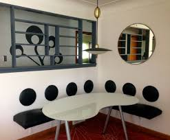 dining l with wall mounted space saving furniture modern