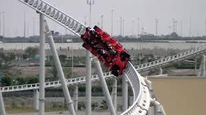 in abu dhabi roller coaster on board formula rossa s fastest roller coaster