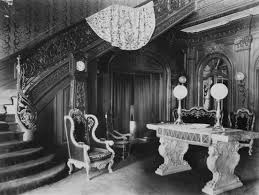 entrance hall interior of elmendorf farm mansion staircase