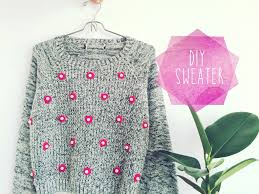diy sweater diy sweater the cutest and easiest way to stay warm craft paper