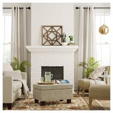 living room ls target felton tufted small storage ottoman taupe threshold target