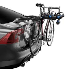 Subaru Forester Bike Rack by Thule 9002pro Raceway Trunk Mount Bike Rack For 3 Bikes