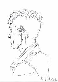 46 best zeichnungen images on pinterest continuous line drawing