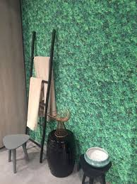 colorful and captivating contemporary bathroom ideas green bathroom wallpaper and black accessories